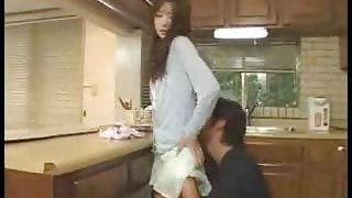 Japanese Wife Fucks Her Husbby Friend