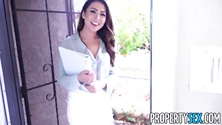 PropertySex Hot Young Agent Melissa Moore Wants to Prove Herself