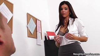 India Summer & Bill Bailey in My First Sex Teacher