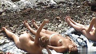 Nude Beach. Voyeur Video 243